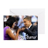 Obama Fist Bump Greeting Cards (Pk of 20)