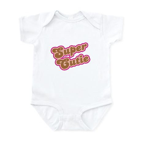 Super Cutie: Caramel Infant Bodysuit