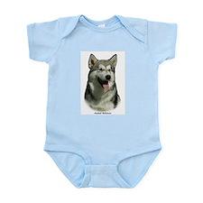 Alaskan Malamute 9R034D-191 Infant Bodysuit