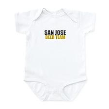 San Jose Beer Team Infant Bodysuit
