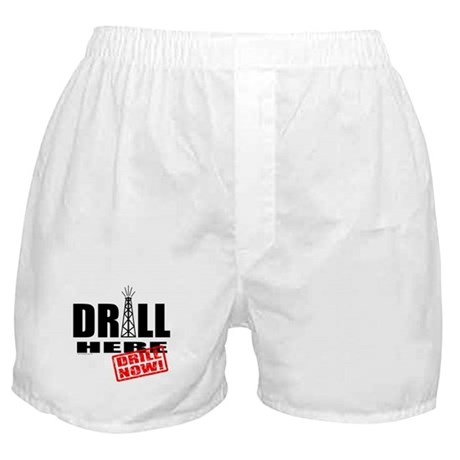 Drill Here and Now Boxer Shorts
