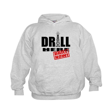 Drill Here and Now Kids Hoodie