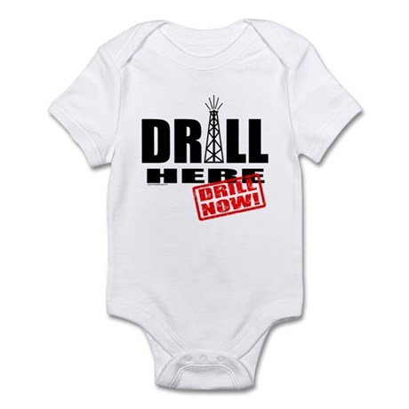 Drill Here and Now Infant Bodysuit