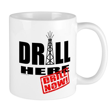 Drill Here and Now Mug