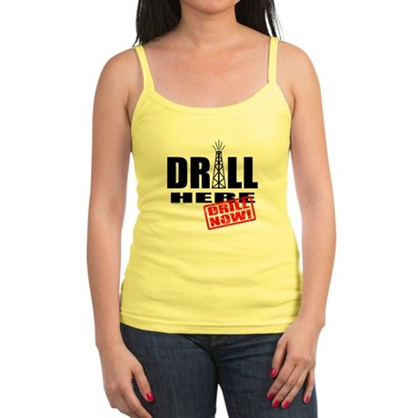 Drill Here and Now Jr. Spaghetti Tank
