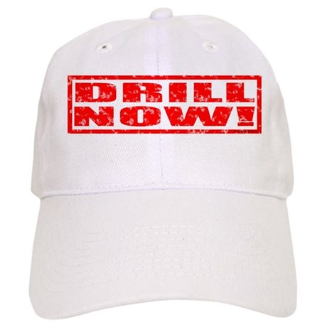 Drill Now! Stamped Cap
