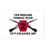 2nd BCT 28th Inf (1) Postcards (Package of 8)