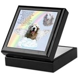 Cocker Spaniel Rainbow Bridge Keepsake Box