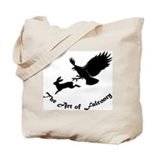 Art of Falconry - Redtail hawk Tote Bag