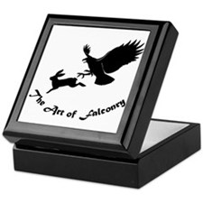 Art of Falconry - Redtail hawk Keepsake Box