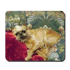 Brussels Griffon Red Mousepad