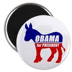 """Obama Democrat Donkey 2.25"""" Magnet (10 pack)"""