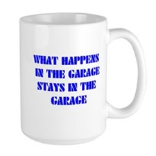 What Happens in The Garage Mug