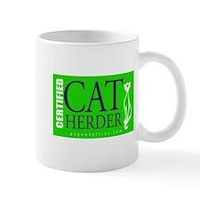 Cat Herder 2 Green web png Mugs