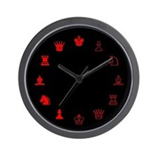 Chess Wall Clock