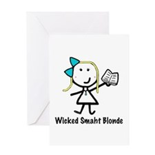 Book - Wicked Smaht Greeting Card