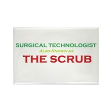 ST The Scrub Rectangle Magnet