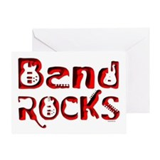 Band Rocks Greeting Card