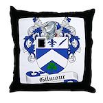 Gilmour Family Crest Throw Pillow