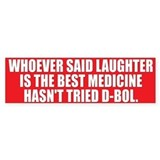 LAUGHTER Bumper Car Sticker