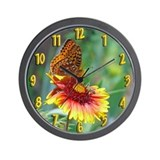 Butterfly & Bee Wall Clock
