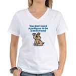 Pedigree (Dog) Women's V-Neck T-Shirt