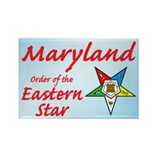Maryland Eastern Star Rectangle Magnet