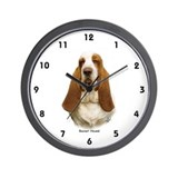 Basset Hound 9L9D-22 Wall Clock