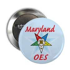 "Maryland Eastern Star 2.25"" Button (100 pack)"