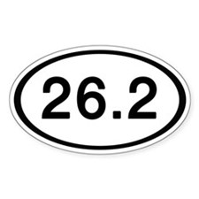 26.2 Oval Stickers