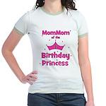 1st Birthday Princess's MomMo Jr. Ringer T-Shirt