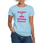 1st Birthday Princess's MomMo Women's Light T-Shir
