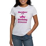 1st Birthday Princess's MomMo Women's T-Shirt