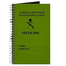 Zombie Field Log Journal