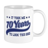 Funny 70th Birthday Mug
