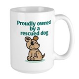 Proudly Owned (Dog)  Tasse