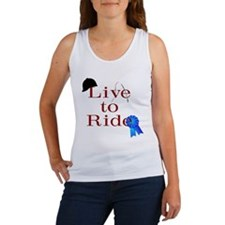 Live to Ride Women's Tank Top