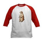 Prairie Dog (Front) Kids Baseball Jersey