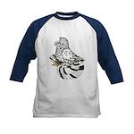 English Trumpeter Light Splas Kids Baseball Jersey