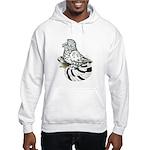 English Trumpeter Light Splas Hooded Sweatshirt