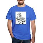 English Trumpeter Light Splas Dark T-Shirt
