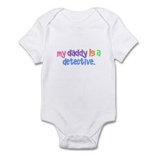 My Daddy Is A Detective PASTEL Infant Bodysuit