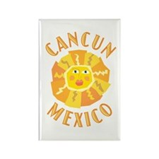Cancun Sun - Rectangle Magnet