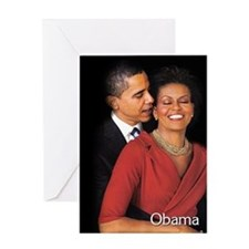 Obama Whisper Greeting Card