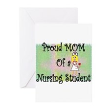 nursing student hierarchy Greeting Cards (Pk of 10