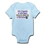 Best Police Officer In The World (Daddy) Onesie