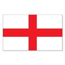 ENGLAND Rectangle Sticker 10 pk)