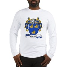 Gordon Family Crest Long Sleeve T-Shirt