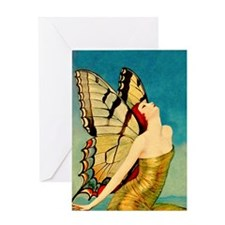 BENDA BUTTERFLY QUEEN Greeting Card