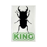 King of Insects Rectangle Magnet